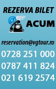 Rezervare telefonica sau email